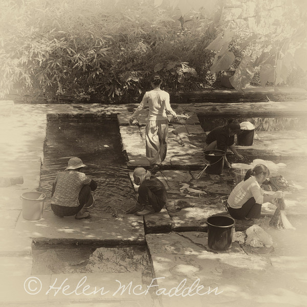 Women at the well, Timeless China Series<br /> Better Photography Magazine Photograph of the Year 2012 Bronze Award