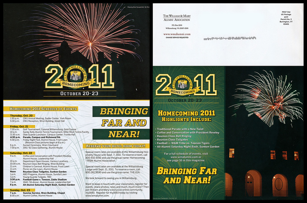 These fireworks photographs were featured in W&M Alumni magazine.