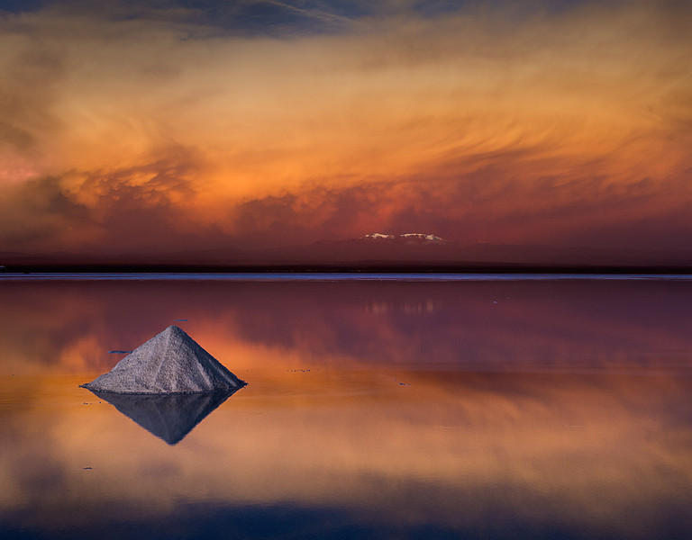 Single salt cone: Salar de Uyuni, Bolivia<br /> International Loupe 2012 Silver<br /> Better Photography Magazine Photograph of the Year Silver<br /> Australian Interstate Photography Competition Runner Up