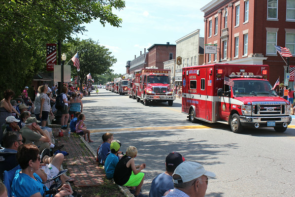 Ayer Fourth of July parade