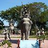 elephant kraal pavilion statuary