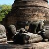 Wat Ratchaburana, Ayutthaya , Buddha pieces