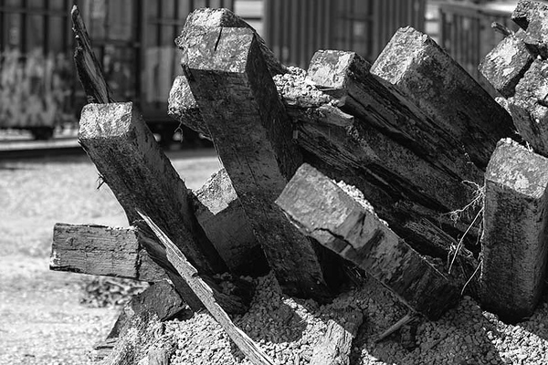 OC Urban Landscape 130A - Discards<br /> Still haven't decided on B&W or Color for this one.