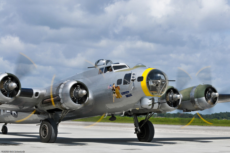 "B-17 ""Liberty Bell"" at the John's Island Airport in Charleston SC"