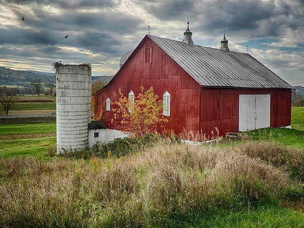 Bedford Red Barn