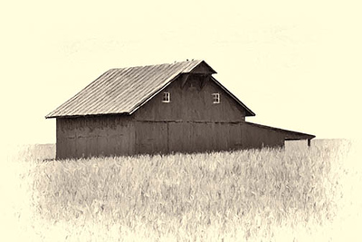 Old Country Club Road Barn #1