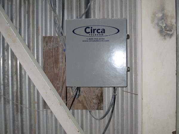 FCC After 02  -  Showing replacement box mounted on wall.
