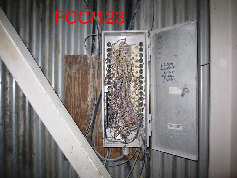 FCC/123 Junction box