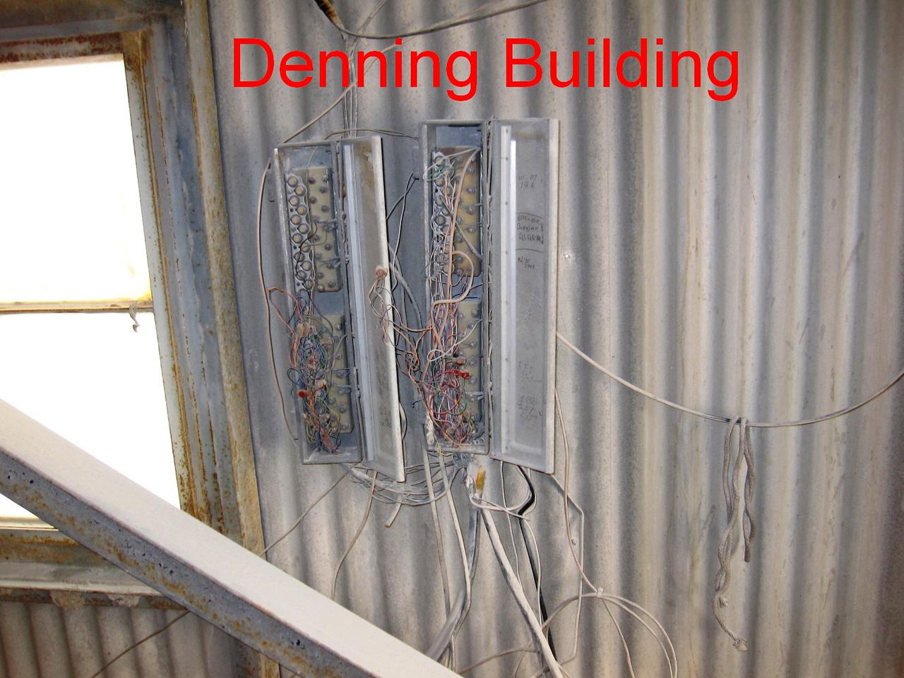 Denning Building junction box