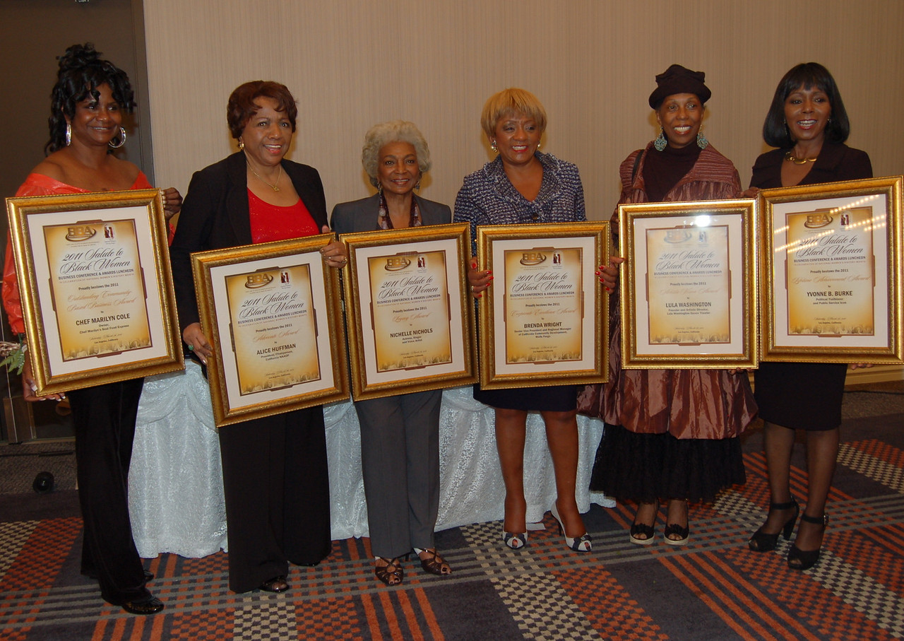 The honorees from the BBA Salute to Black Women.<br /> <br /> Sabir Majeed