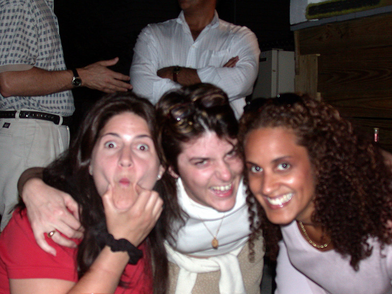 Cristina, Laurence and Michelle.