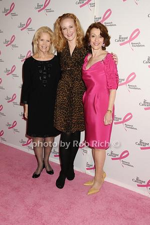 Kay Krill, Katie Finneran, Evelyn Lauder<br /> photo by Rob Rich © 2009 robwayne1@aol.com 516-676-3939