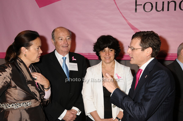 Martine Piccart-Gebhart, Eduardo Cazap,Ephrat Levy-Lahad,Clifford Hudis<br /> photo by Rob Rich © 2009 robwayne1@aol.com 516-676-3939