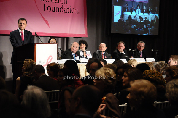 Clifford Hudis, Martine Piccart-Gebhart, Eduardo Cazap, Ephrat Levy-Lahad, Larry Norton, Alan Ashworth, Jose Balega<br /> photo by Rob Rich © 2009 robwayne1@aol.com 516-676-3939