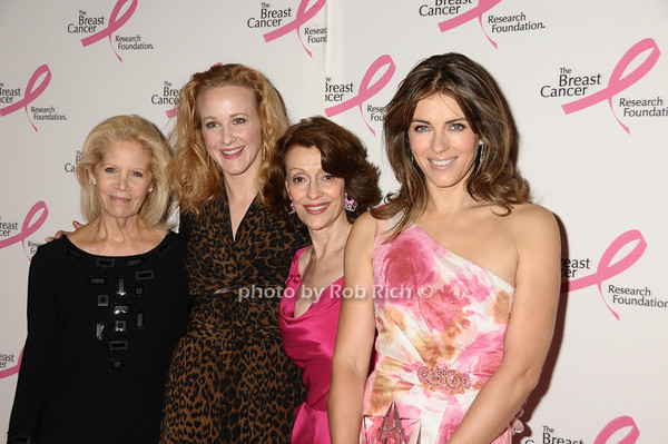 Kay Krill, Katie Finneran, Evelyn Lauder, Elizabeth Hurley<br /> photo by Rob Rich © 2009 robwayne1@aol.com 516-676-3939