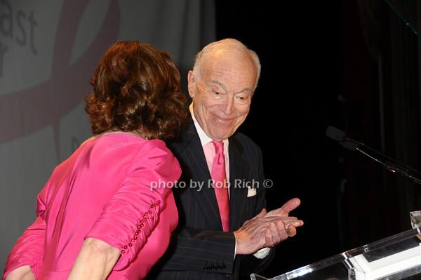 Evelyn Lauder, Leonard Lauder<br /> photo by Rob Rich © 2009 robwayne1@aol.com 516-676-3939