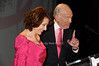 Evelyn Lauder, Leonard Lauder<br /> photo by Rob Rich © 2009 robwayne1@aol.com 516-676-3939