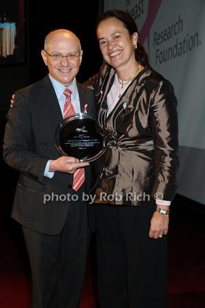 Larry Norton, Martine Piccart-Gebhart<br /> photo by Rob Rich © 2009 robwayne1@aol.com 516-676-3939