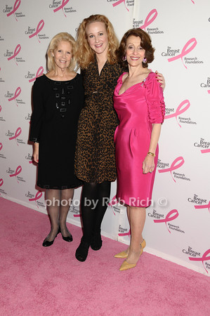 Kay Krill, Katie Finneran, Evelyn Lauder<br /> photo by Rob Rich © 2009 robwayne1@aol.com 516-676-3939