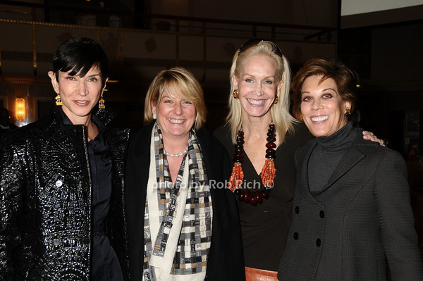 Amy Fine Collins,Felicia Taylor, Joanne de Guardiola, Peggy Siegal<br /> photo by Rob Rich © 2009 robwayne1@aol.com 516-676-3939