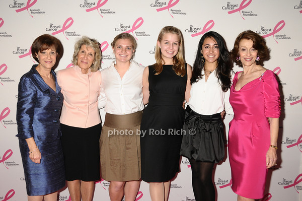 Myra Biblowit, guests, Evelyn Lauder<br /> photo by Rob Rich © 2009 robwayne1@aol.com 516-676-3939