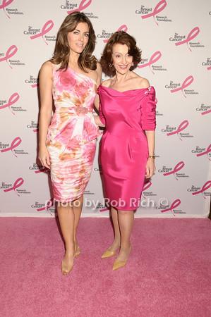 Elizabeth Hurley, Evelyn Lauder<br /> photo by Rob Rich © 2009 robwayne1@aol.com 516-676-3939