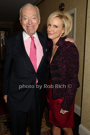 Leonard Lauder, Mike Brezinski<br /> photo by Rob Rich © 2009 robwayne1@aol.com 516-676-3939