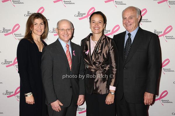 Wendi Marshall, Larry Norton, Martine Piccart-Gebhart, Marshall Rose<br /> photo by Rob Rich © 2009 robwayne1@aol.com 516-676-3939