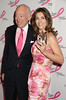 Leonard Lauder, Elizabeth Hurley<br /> photo by Rob Rich © 2009 robwayne1@aol.com 516-676-3939