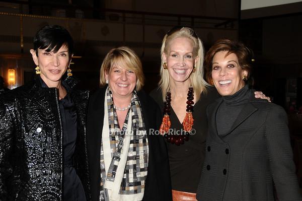 Amy Fine Collins,Felicia Taylor, Joanne de Guardiola, Peggy Siegal<br /> photo by Rob Rich © 2009 robwayne1@aol.com 516-676-3939