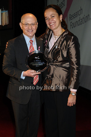 Larry Norton, Martine Piccart-Gebhart<br /> photo by Rob Rich © 2009 robwayne1@aol.com 516-676-3939