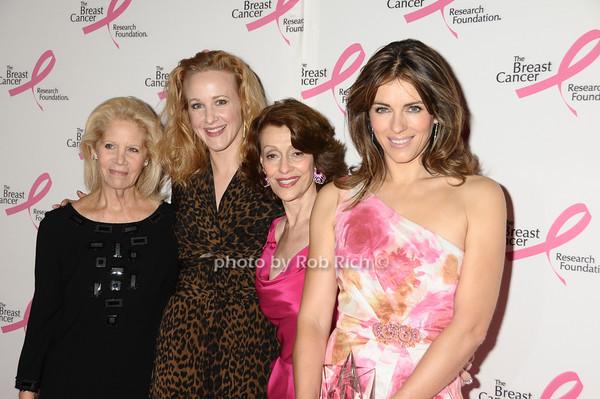Kay Krill, Katie Finneran, Evelyn Lauder, Elizabeth Hurley<br /> photo by Rob Rich © 2009 robwayne1@aol.com 516-676-3939