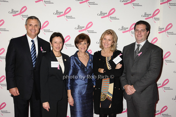 Mike Tucci, Judy Garber,Myra Biblowit, Silvia Formenti, Todd Kahn<br /> photo by Rob Rich © 2009 robwayne1@aol.com 516-676-3939