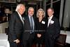 Joseph Taub, Neal Rosen, Arlene Taub & Kenneth Offit<br /> photo by K.Doran for Rob Rich © 2009 robwayne1@aol.com 516-676-3939