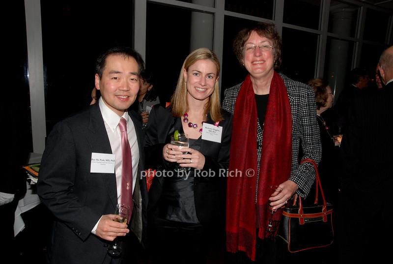 Ben Ho Park, Michaela Higgins & Nancy Davidson<br /> photo by K.Doran for Rob Rich © 2009 robwayne1@aol.com 516-676-3939