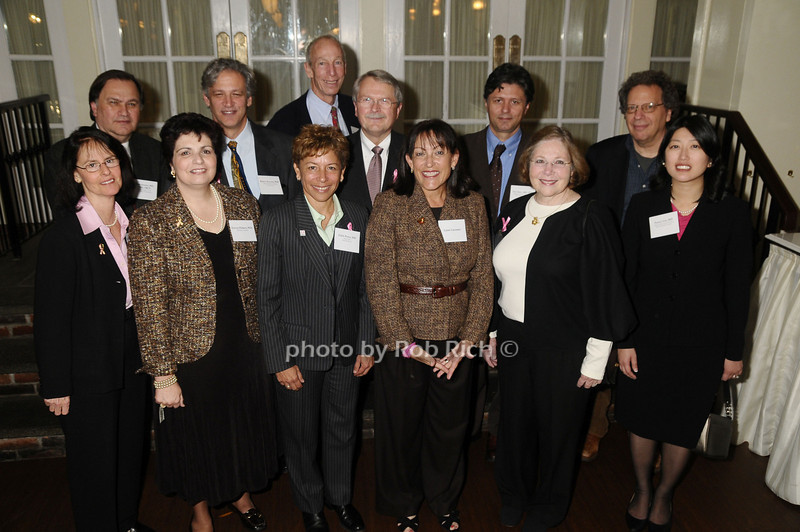 (f) Benita Katzenellenbogen,Electra Paskett, Edith Perez, Laura Lassman,Kathryn Horwitz,Nancy Lin<br /> (b)Mark Green, Robert Benezra,Marc Lippman,James Ingle,Tan Ince, Michael Wigler<br /> (Play for Pink Awards)<br /> photo by Rob Rich © 2009 robwayne1@aol.com 516-676-3939