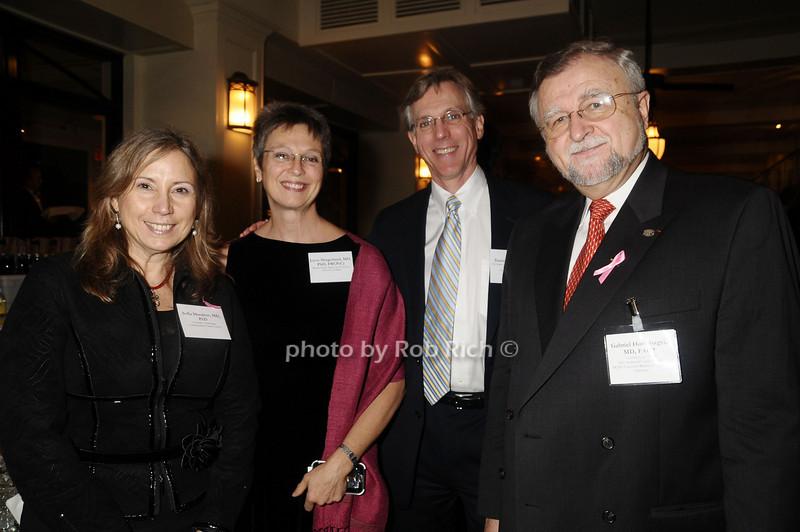 Sofia Merajver, Joyce Slingerland,Daniel Hayes, Gabriel Hortobagyi<br /> photo by Rob Rich © 2009 robwayne1@aol.com 516-676-3939