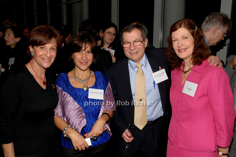 Myra Biblowit, Rachel Hazan, Hyman Muss & Pat Altman<br /> photo by K.Doran for Rob Rich © 2009 robwayne1@aol.com 516-676-3939