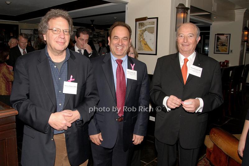 Michael Wigler, Bruce Hafry & Eduardo Cazap<br /> photo by K.Doran for Rob Rich © 2009 robwayne1@aol.com 516-676-3939
