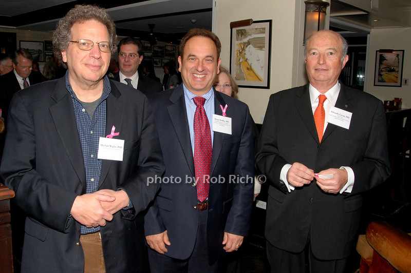 Michael Wigler, Bruce Hafry & Eduardo Cazap<br /> photo by K.Doran for Rob Rich © 2009 robwayne1@aol.com 516-676-3939