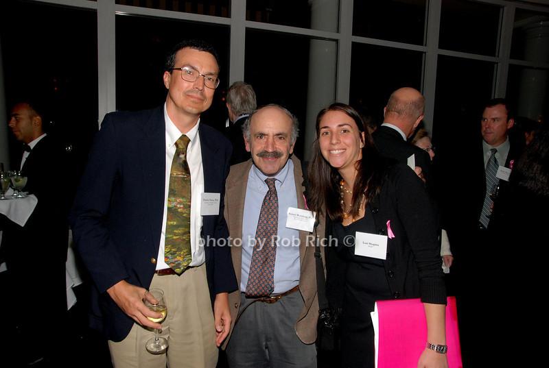 Charles Perou, Robert Weinberg & Lori Shapiro<br /> photo by K.Doran for Rob Rich © 2009 robwayne1@aol.com 516-676-3939