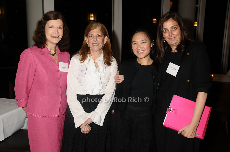Pat Altman, Robbie Franklin, Jacqueline, Anna DeLuca<br /> photo by Rob Rich © 2009 robwayne1@aol.com 516-676-3939