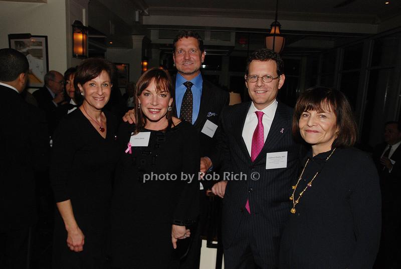 Myra Biblowit, Tricia Quick, Craig Reynolds, Clifford  Hudis & Peg Mastrianni<br /> photo by K.Doran for Rob Rich © 2009 robwayne1@aol.com 516-676-3939