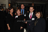 Myra Biblowit, Tricia Quick, Craig Reynolds, Clifford  Hudis & Peg Mastrianni<br /> photo by K.Doran for Rob Rich © 2009 robwayne1@aol.com 516-676-3939
