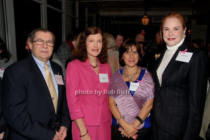Hyman Muss, Pat Altman, Rachel Hazan & Gail Hilson<br /> photo by K.Doran for Rob Rich © 2009 robwayne1@aol.com 516-676-3939