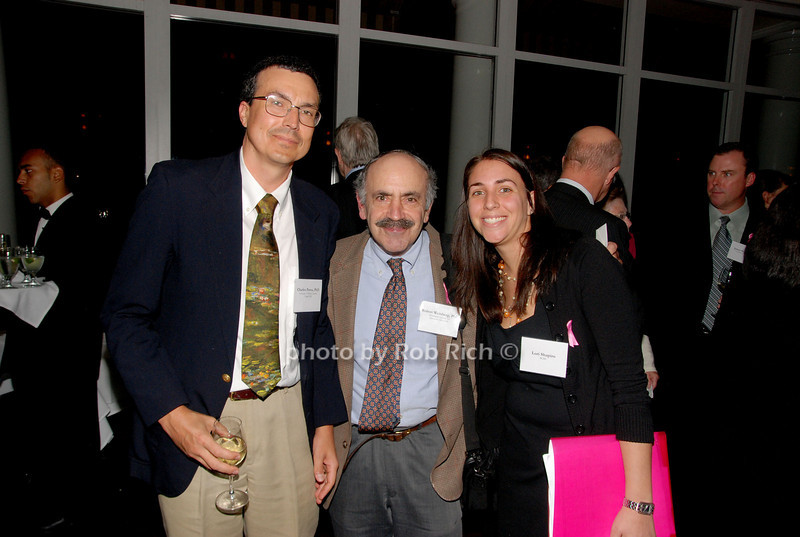 Charles Perou, Robert Weinberg & Lori Shapiro<br /> photo by K.Doran for Rob Rich © 2009 robwayne1@aol.com 516-676-3939