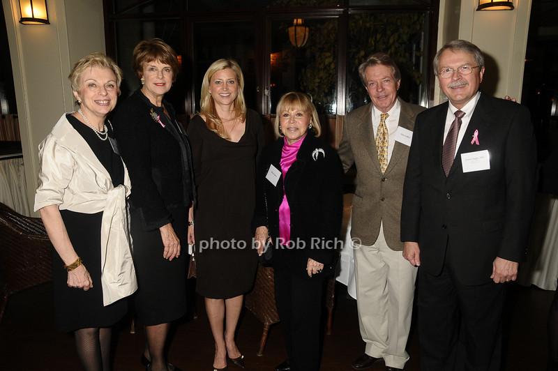 Diane Ackley, Deborah Krulewitch,Cynthia Lufkin, Betsey Green, Dan Lufkin, James Ingle<br /> photo by Rob Rich © 2009 robwayne1@aol.com 516-676-3939