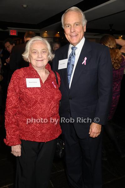 Muriel Siebert, Jerry LeWine<br /> photo by Rob Rich © 2009 robwayne1@aol.com 516-676-3939