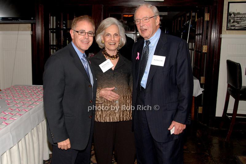 Dr. Robert Schneider, Dr. Joan Marks and Dr. Paul Marks<br /> photo by K.Doran for Rob Rich © 2009 robwayne1@aol.com 516-676-3939