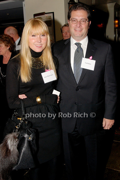 Anne-Marie Kahn & Todd Kahn<br /> photo by K.Doran for Rob Rich © 2009 robwayne1@aol.com 516-676-3939